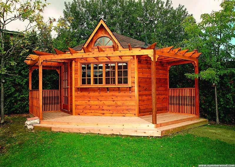 Garden Shed Building Permits information Summerwood ID number 957